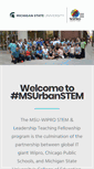 Mobile Preview of msuurbanstem.org