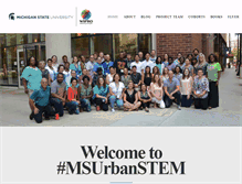 Tablet Preview of msuurbanstem.org